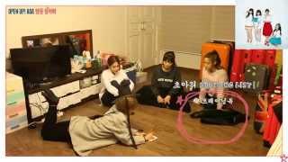getlinkyoutube.com-AOA 초아 쇼핑 전 숙소 안에서의 대화(맴을 열어봐)
