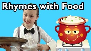 getlinkyoutube.com-Hot Cross Buns and More Rhymes With Food | Nursery Rhymes from Mother Goose Club!