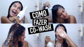 getlinkyoutube.com-COMO FAZER CO-WASH | Mari Morena