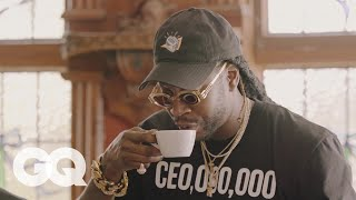 getlinkyoutube.com-2 Chainz Drinks $600 Coffee (Made from Cat Poop) | Most Expensivest Shit | GQ