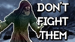 getlinkyoutube.com-Skyrim: Don't Fight Against a Greybeard!