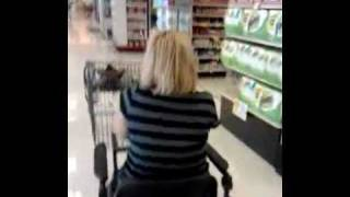 Shopping With A Broken Ankle