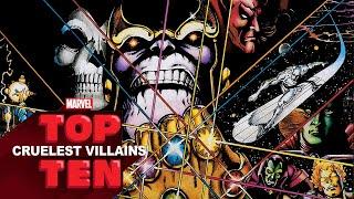 Top 10 Cruelest Villains   Marvel Top 10