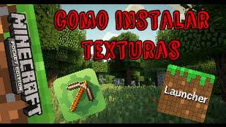 Como instalar texturas-Minecraft PE 0.14.0