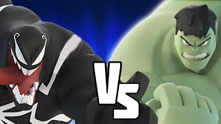 getlinkyoutube.com-Hulk VS Venom - Disney Infinity BATTLES!