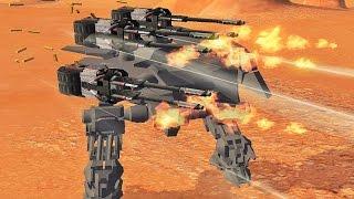 War Robots [2.8] Test Server - NEW Heavy Robot MK3 Gameplay