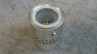 "Homemade ""Gallon Can"" Wood Stove! - ""Tin Can"" Wood Stove - Easy DIY"