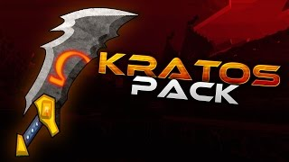 getlinkyoutube.com-1.8+ EPIC Minecraft PvP Texture Pack KRATOS PACK | FIRE SWORDS, HD + FREE Download!