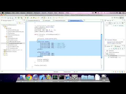 #8 Entities -- Java Game Development (LWJGL)