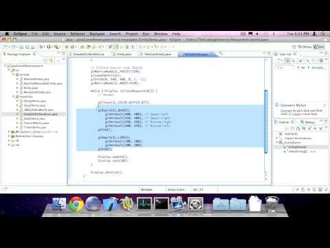 #8 Entities -- Java Game Development (LWJGL)