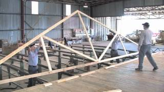 getlinkyoutube.com-Fort Worth Lumber Rafters Trusses Design And Build