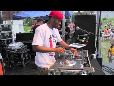 DJ BandCamp opens for T-Pain at University of Cincinnati Spring PAC Concert