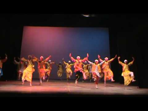 Bhangra Rehearsal
