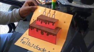 getlinkyoutube.com-como hacer una carta de cumpleaños (FACIL Y BONITA)