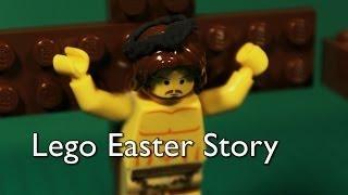 getlinkyoutube.com-Lego Easter Story (Jesus' Death & Resurrection)