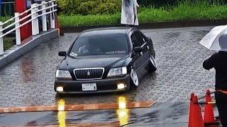 getlinkyoutube.com-【駐車場入口】+81Like HellaFlush 2015 ③ 車高短 シャコタン Lowered Lowcar exhaust