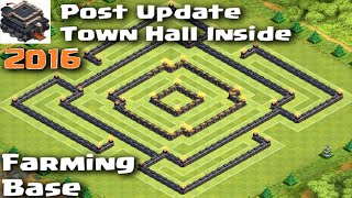 getlinkyoutube.com-Clash of Clans - POST UPDATE Town Hall 9 Farming Base with Town Hall inside! Higher Dark Protection!