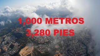 getlinkyoutube.com-Drone CX-20 1000M 3280ft record altura altitude test (AminNet)