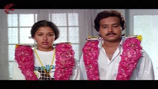 getlinkyoutube.com-First Night Scene Between Karthik & Gautami || Bangaru Papa Movie || Gautami, Karthik