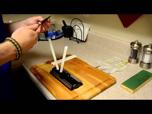 SpyderCo Sharpmaker för enkel knivslipning -Redaktionen