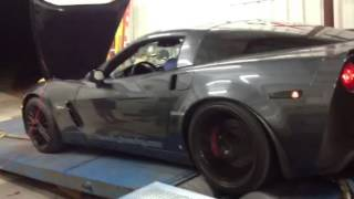 getlinkyoutube.com-Heads/cam C6 Z06 dyno pull
