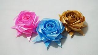 getlinkyoutube.com-พับเหรียญโปรยทาน ดอกกุหลาบ 8 เส้น (rose)