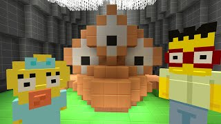 getlinkyoutube.com-Minecraft Xbox - Survival Madness Adventures - The Simpsons Blinky The Fish BOSS [256]