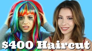$50 Haircut VS $400 Haircut!