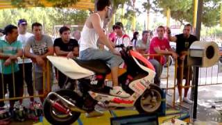 "getlinkyoutube.com-Aerox ""LA PALOMA"" en banco pruebas 170km/h team2"
