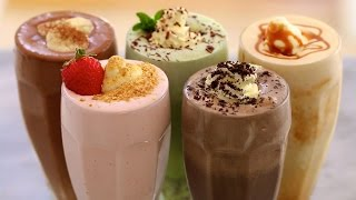 getlinkyoutube.com-5 Homemade Ice Cream Milkshakes - Gemma's Bigger Bolder Baking Ep  71