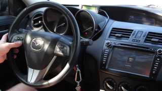 getlinkyoutube.com-Eonon GM5163 Installation Video - 2012 Mazda 3 Skyactiv
