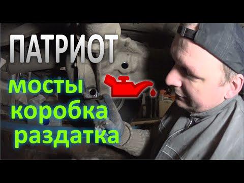 Где фильтр акпп у UAZ 469