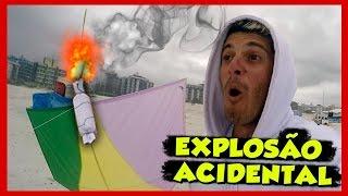getlinkyoutube.com-Explodindo pipas com bomba - Terrorist Kite