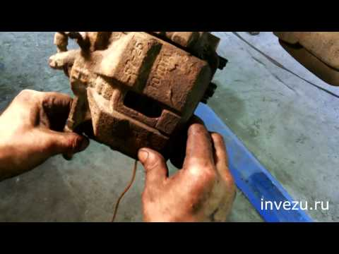 Замена тормозных колодок на Toyota Caldina 2.0 TZ 4WD
