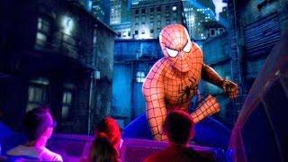POV Amazing Adventures of Spider-Man ride Universal Islands of Adventure