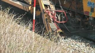 getlinkyoutube.com-Plasser & Theurer machines and EMD locomotives part 2