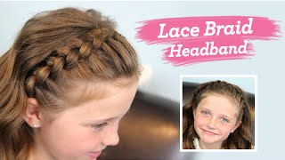 getlinkyoutube.com-Lace Braid Headband | Twins' Channel Launched