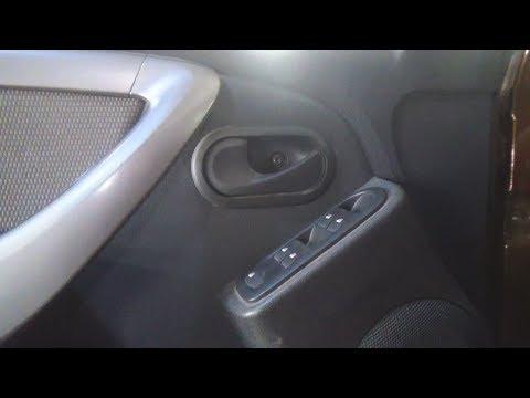 Как снять обшивки передней и задней двери. Renault Duster (Рено Дастер).