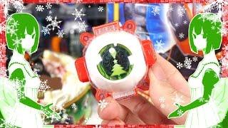【仮面ライダーゴースト】Merry Christmas!キャラデコクリスマス サンタゴーストアイコン レビュー!Kamen Rider Ghost