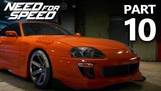 Need For Speed 2015 Gameplay Walkthrough Part 10 - SUPRA Under 250HP