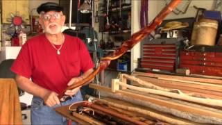 getlinkyoutube.com-Mountain Man: The Art Of Making Custom Walking Canes - Long Version
