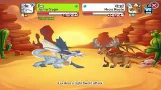 getlinkyoutube.com-Dragon City: All Western Habitat Battles / Weaknesses