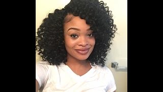 getlinkyoutube.com-Precurled Crochet Braids | Freetress Ringlet Wand Curl