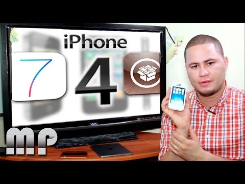 Jailbreak iOS 7.0.4 Tethered SÓLO iPhone 4 (Pregunto) NO TUTORIAL