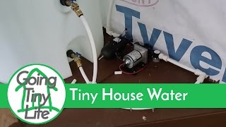 getlinkyoutube.com-Tiny House Build - off grid water system