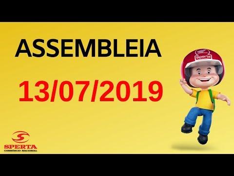 Sperta Consórcio - Assembleia - 13/07/2019
