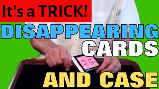 getlinkyoutube.com-Disappearing Cards and Case Magic Trick