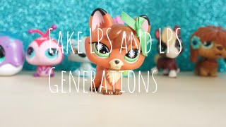 Fake LPS and LPS Generations (Read Description)