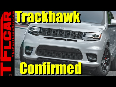 Jeep Trackhawk Confirmed
