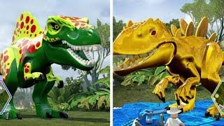 LEGO Jurassic World - Custom Dinosaurs (Co-op Dinosaur Fights)